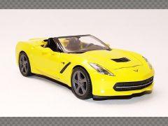 CHEVROLET CORVETTE STINGRAY (C7) ~ YELLOW  | 1:24 Diecast Model Car