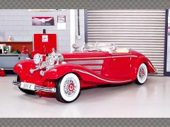 MERCEDES 500K ~ 1936 ~ RED | 1:18 Diecast Model Car