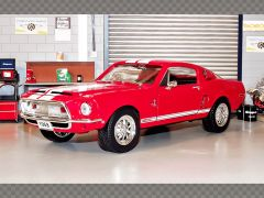 SHELBY GT 500KR 1968 ~ RED | 1:18 Diecast Model Car
