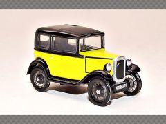AUSTIN SEVEN ~ YELLOW | 1:76 Diecast Model Car