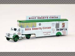 BEDFORD OX BOOKING OFFICE ~ BILLY SMARTS CIRCUS   1:76 Diecast Truck