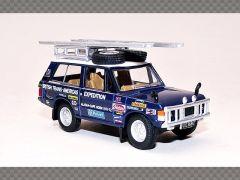 RANGE ROVER CLASSIC ~ BLUE | 1:76 Diecast Model Car