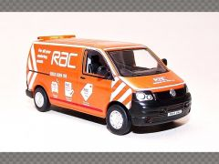 VOLKSWAGEN T5 VAN ~ RAC | 1:76 Diecast Model Van
