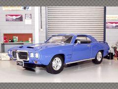 PONTIAC FIREBIRD 1969 ~ BLUE | 1:18 Diecast Model Car