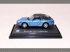 PORSCHE 911 CABRIOLET | 1:72 Diecast Model Car