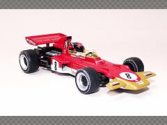 LOTUS 72D - GERMAN GP 1971 ~ EMERSON FITTIPALDI | 1:43 Diecast Model Car