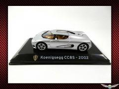 KOENIGSEGG CC8S ~ 2002   1:43 Diecast Model Car