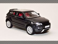 RANGE ROVER EVOQUE ~ BLACK | 1:43 Resin Model Car