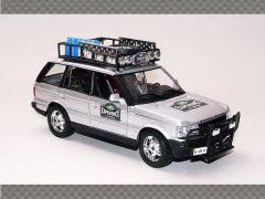 RANGE ROVER SAFARI ~ SILVER | 1:24 Diecast Model Car
