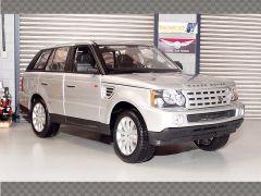 RANGE ROVER SPORT ~ SILVER | 1:18 Diecast Model Car