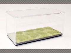 1:43 DISPLAY CASE PATCHED GRASS BASE HD FINISH ~ PROTECT YOUR INVESTMENT!