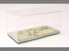 1:43 DISPLAY CASE DRIED GRASS BASE HD FINISH ~ PROTECT YOUR INVESTMENT!