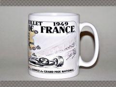 REIMS GRAND PRIX 1949 POSTER MUG | Mugs