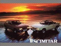 SCIMITAR GTE & GTC ORIGINAL SHOWROOM BROCHURE | Memorabilia