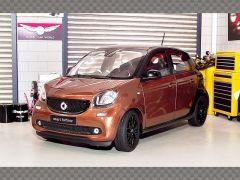 SMART FORFOUR  2014 ~BROWN | 1:18 Diecast Model Car
