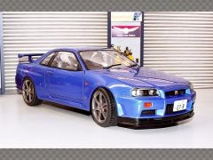 NISSAN SKYLINE GT-R (R34) ~ 1999 | 1:18 Diecast Model Car