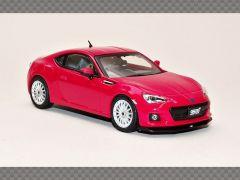 SUBARU BRZ STI TS 2013 ~ RED | 1:43 Diecast Model Car