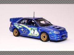 SUBARU IMPREZA WRC RALLY NEW ZEALAND 2003 | 1:43 Diecast Model Car
