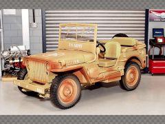 "WILLYS JEEP ""CASABLANCA"" 1943 | 1:18 Diecast Model Car"