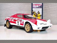 LANCIA STRATOS - SAN REMO WINNER ~ 1974   1:18 Diecast Model Car