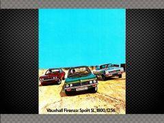 VAUXHALL FIRENZA ORIGINAL SHOWROOM BROCHURE 1972 | Memorabilia