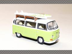 VOLKSWAGEN BAY WINDOW CAMPER | 1:76 Diecast Model Car