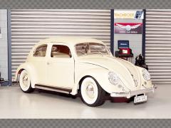 VOLKSWAGEN BEETLE 1955 ~ CREAM | 1:18 Diecast Model Car