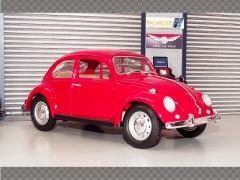 VOLKSWAGEN BEETLE 1967 ~ RED| 1:18 Diecast Model Car