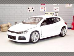 VOLKSWAGEN SCIROCCO R ~ WHITE | 1:24 Diecast Model Car