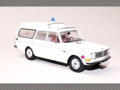 VOLVO 145 EXPRESS AMBULANCE 1969 | 1:43 Diecast Model Car