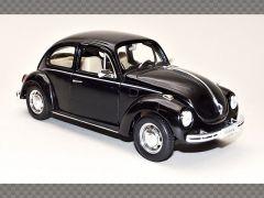 VOLKSWAGEN BEETLE ~ BLACK | 1:24 Diecast Model Car