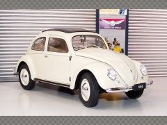 VOLKSWAGEN CLASSIC BEETLE 1950 ~ CREAM | 1:18 Diecast Model Car