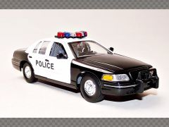 FORD CROWN VICTORIA  ~ POLICE | 1:24 Diecast Model Car