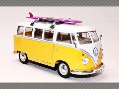 VOLKSWAGEN CLASSIC BUS ~ 1962 | 1:24 Diecast Model Car