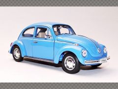 VOLKSWAGEN BEETLE ~ BLUE | 1:24 Diecast Model Car