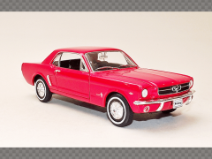 FORD MUSTANG COUPE ~ 1964 | 1:24 Diecast Model Car