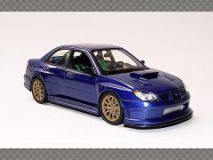 SUBARU IMPREZA  WRX STi ~ BLUE | 1:24 Diecast Model Car