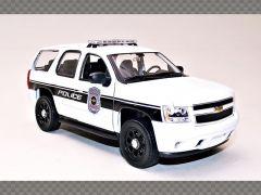 CHEVROLET TAHOE ~ 2008 ~ POLICE | 1:24 Diecast Model Car