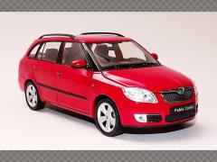 SKODA FABIA 2 | 1:24 Diecast Model Car