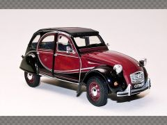 CITROEN 2CV ~ 1982 ~ RED | 1:24 Diecast Model Car