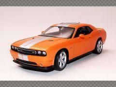 DODGE CHALLENGER SRT ~ ORANGE | 1:24 Diecast Model Car