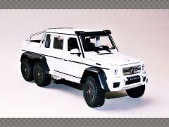 MERCEDES G53 AMG 6X6 ~ 2015 ~ WHITE | 1:24 Diecast Model Car