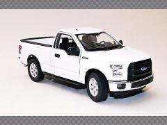 FORD F150 CAB ~ WHITE | 1:24 Diecast Model Car
