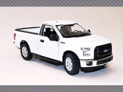 FORD F150 CAB ~ WHITE | 1:24 Diecast Model Car