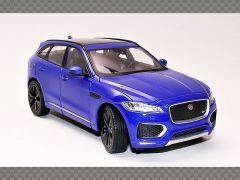 JAGUAR F PACE ~ BLUE | 1:24 Diecast Model Car