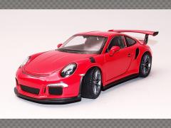 PORSCHE 911/991 GT3 RS ~2016 ~ Orange   1:24 Diecast Model Car