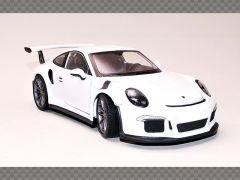 PORSCHE 911/991 GT3 RS ~2016 ~ WHITE   1:24 Diecast Model Car