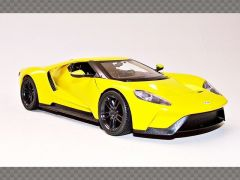 FORD GT ~ YELLOW   1:24 Diecast Model Car