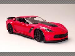 CHEVROLET CORVETTE Z06 ~ 2017   1:24 Diecast Model Car