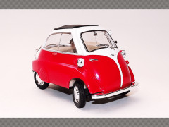 BMW ISETTA 250 ~ RED | 1:18 Diecast Model Car
